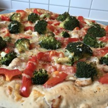 Pizza California von der White Lady