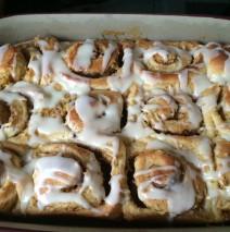 Cinnamon Buns (Zimtschnecken) in der Ofenhexe